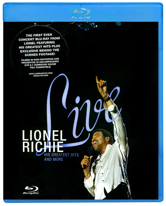 Richie Lionel: Live (Blu-ray) bring on the night