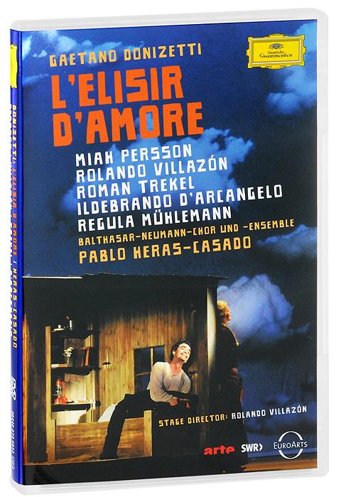 Gaetano Donizetti: L'elisir D'amore миа перссон miah persson mozart opera and concert arias sacd