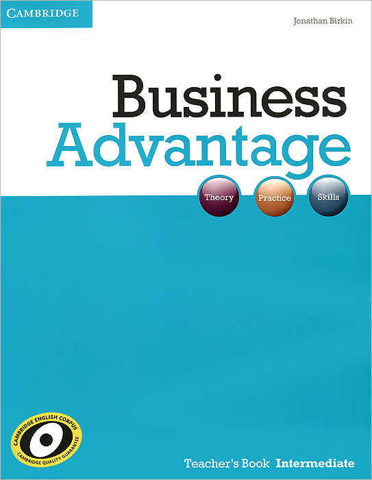 Business Advantage Intermediate Teacher's Book business advantage upper intermediate personal study book cd rom