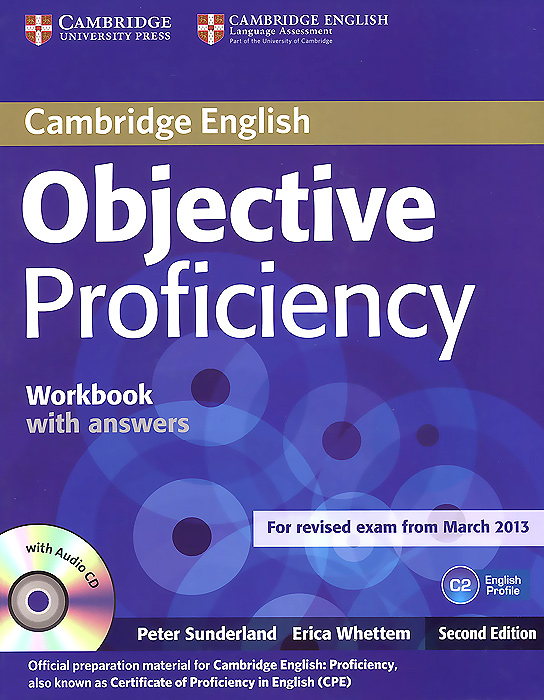 Objective Proficiency Workbook with Answers (+CD) objective first workbook with answers cd