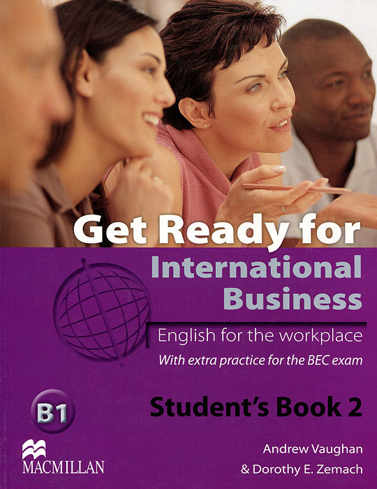 Get Ready for International Business B1: Level 2: Student's Book цена и фото