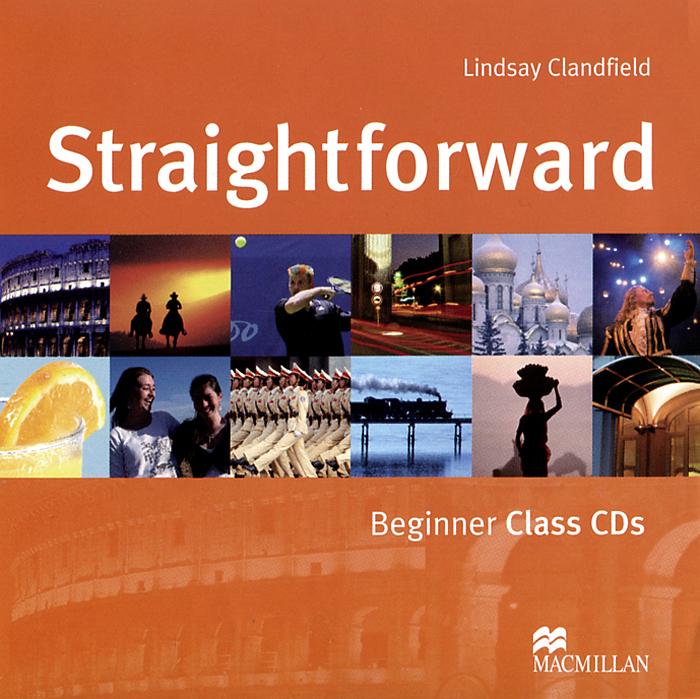 Straightforward: Class CDs: Beginner Level (аудиокурс на 2 CD) straightforward beginner workbook with key cd