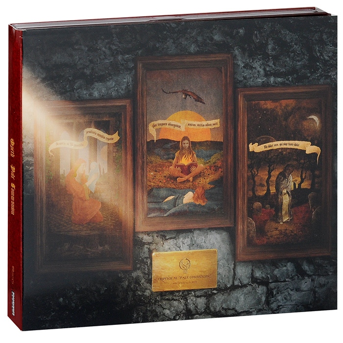 Opeth Opeth. Pale Communion. Deluxe Edition (CD + Blu-Ray Audio) blu ray cd david gilmour live at pompeii