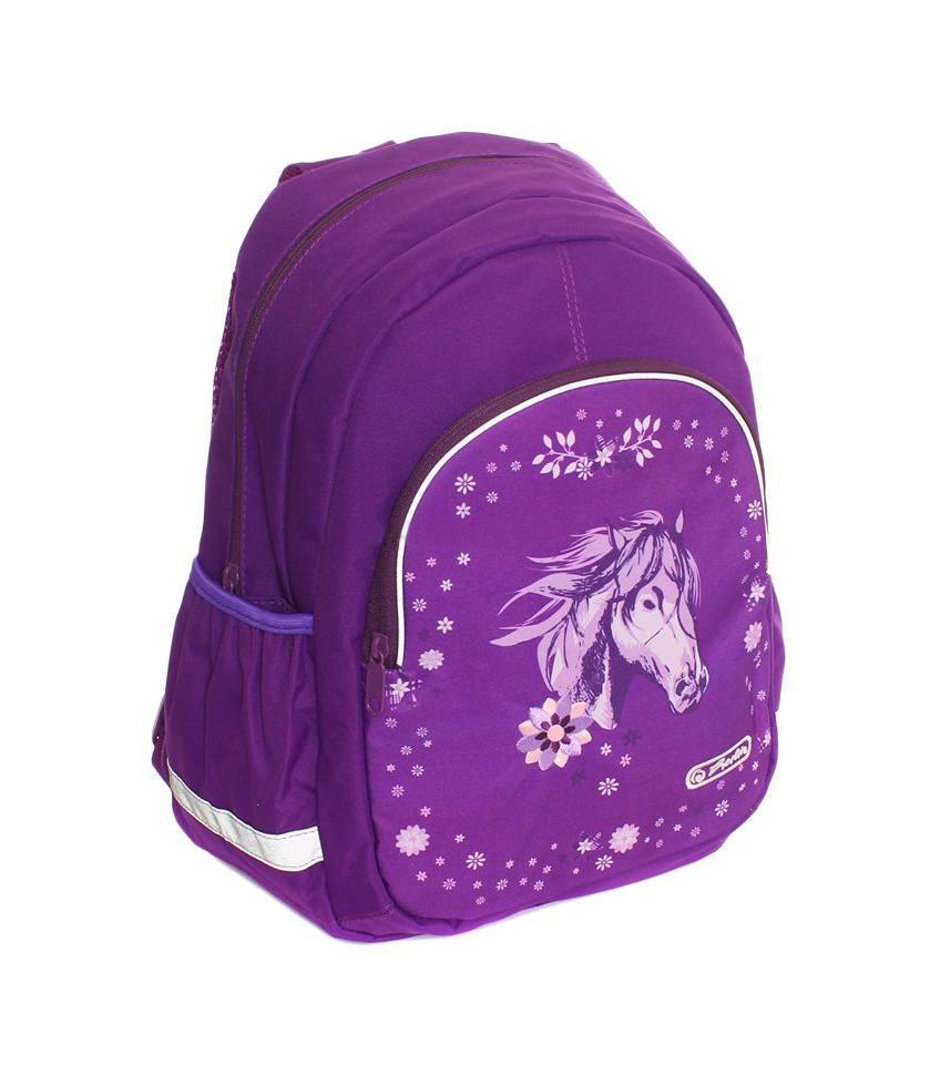 07add2b8b3d1 Рюкзак школьный be.bag GLITTER HORSE, разм. 37х26х14 см, (HERLITZ) — купить  в интернет-магазине OZON.ru с быстрой доставкой