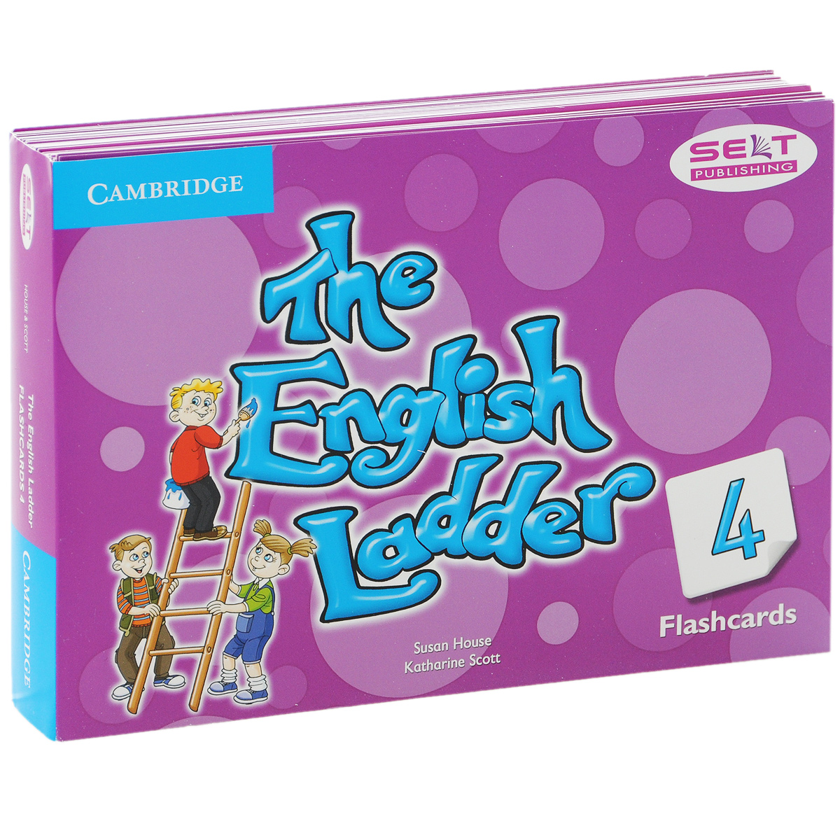 The English Ladder 4: Flashcards (набор из 88 карточек) the english ladder level 4 teacher s book