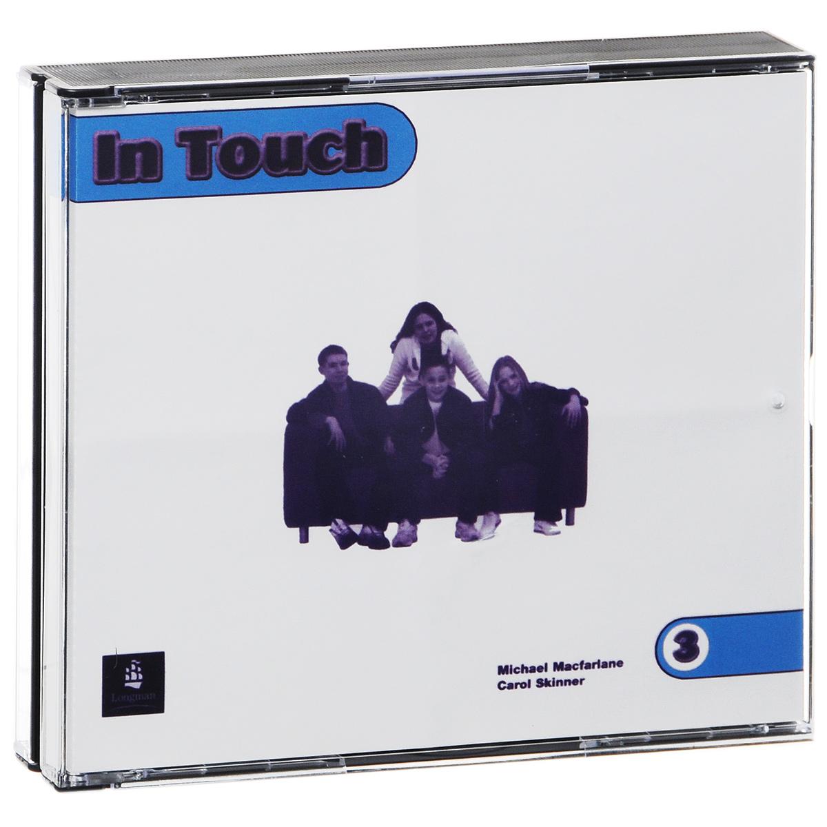 лучшая цена In Touch 3 (аудиокурс на 3 CD)