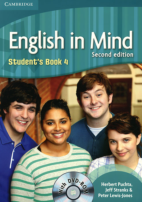 English in Mind: Level 4: Student's Book (+ DVD-ROM) english in mind level 2 students book dvd rom