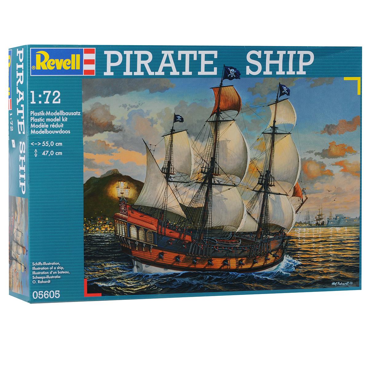 "<b>Сборная модель</b> Revell ""<b>Пиратский</b> корабль"", 896 элементов ..."