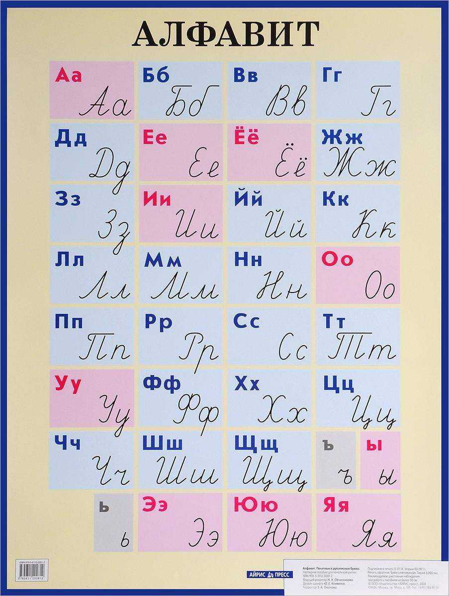 Алфавит. Печатные и рукописные буквы. Наглядное пособие для начальной школы алфавит печатные и рукописные буквы наглядное пособие для начальной школы