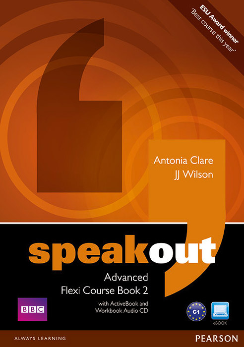 Speakout: Advanced: Flexi Course Book 2 (+ 2 CD-ROM) speakout starter student s book dvd