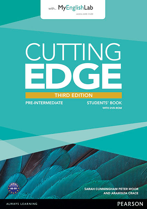 Cutting Edge: Pre-Intermediate: Students' Book with MyEnglishLab (+ DVD-ROM) close up b1 student s book dvd rom