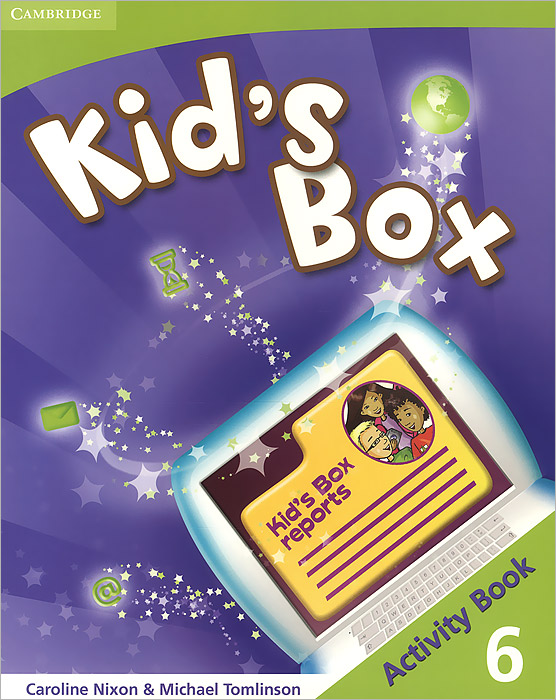 Kid's Box 6: Activity Book diy 9v 6 x aa battery holder case box with leads and switch