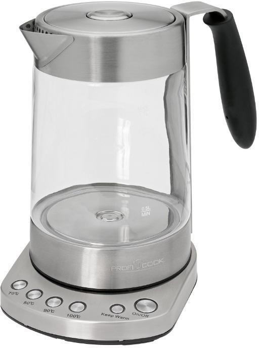 Электрический чайник Profi Cook PC-WKS 1020 G электрический чайник profi cook pc wks 1119