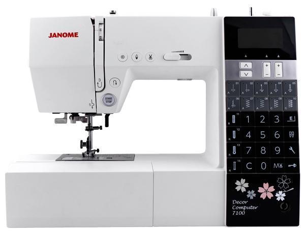 Janome DC 7100 швейная машина