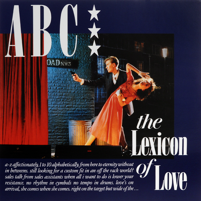 ABC ABC. The Lexicon of Love (LP) indian version of k abc