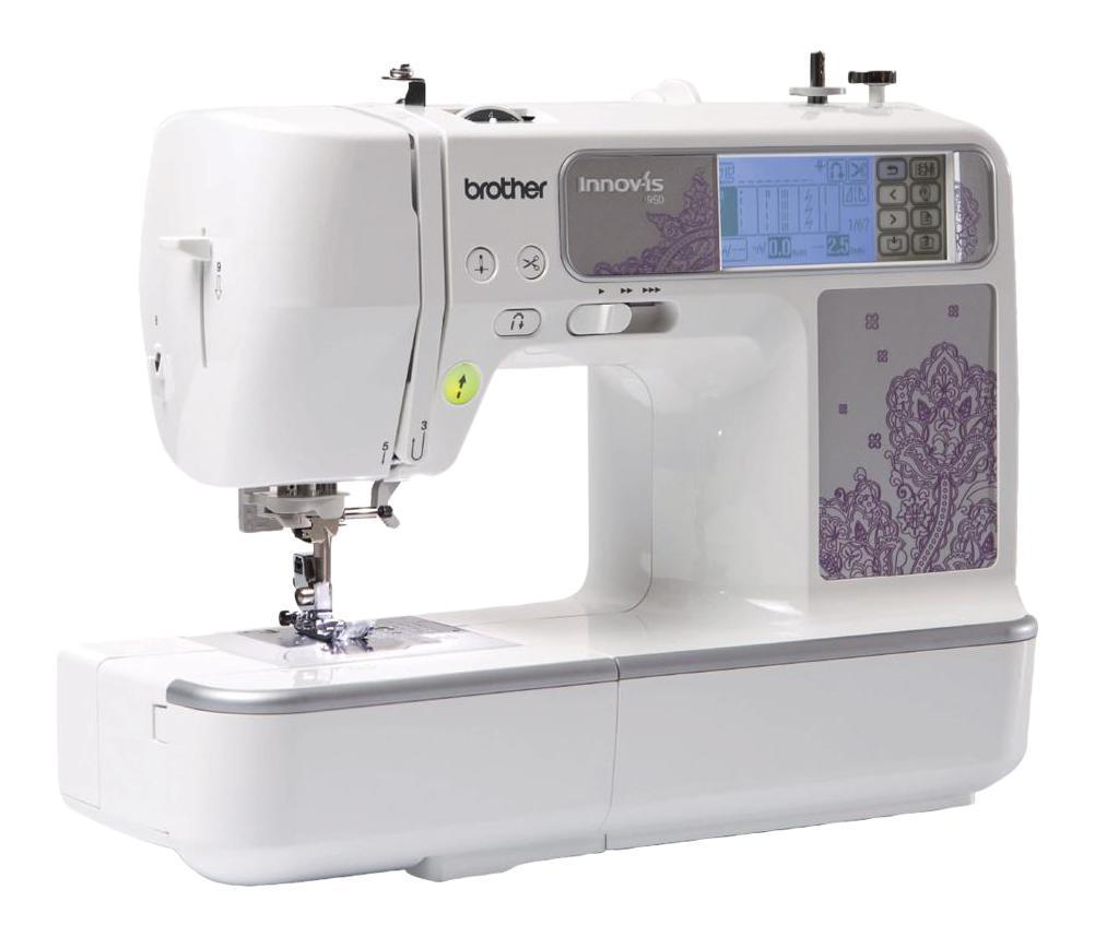 лучшая цена Brother NV950, White швейно-вышивальная машина