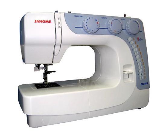 Швейная машина Janome EL546S швейная машинка janome dresscode