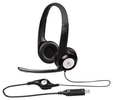 Компьютерная гарнитура Logitech Stereo Headset H390 (981-000406) logitech stereo headset h390 usb 981 000406