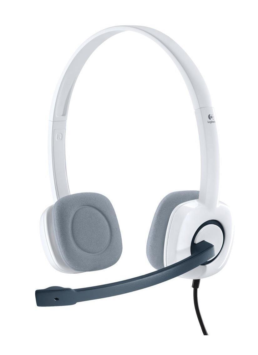 Компьютерная гарнитура Logitech Headset H150, White (981-000350) logitech h150 blue 981 000368