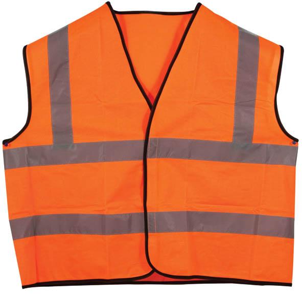 цены на Жилет сигнальный SF Vest, цвет: оранжевый. Размер XL  в интернет-магазинах