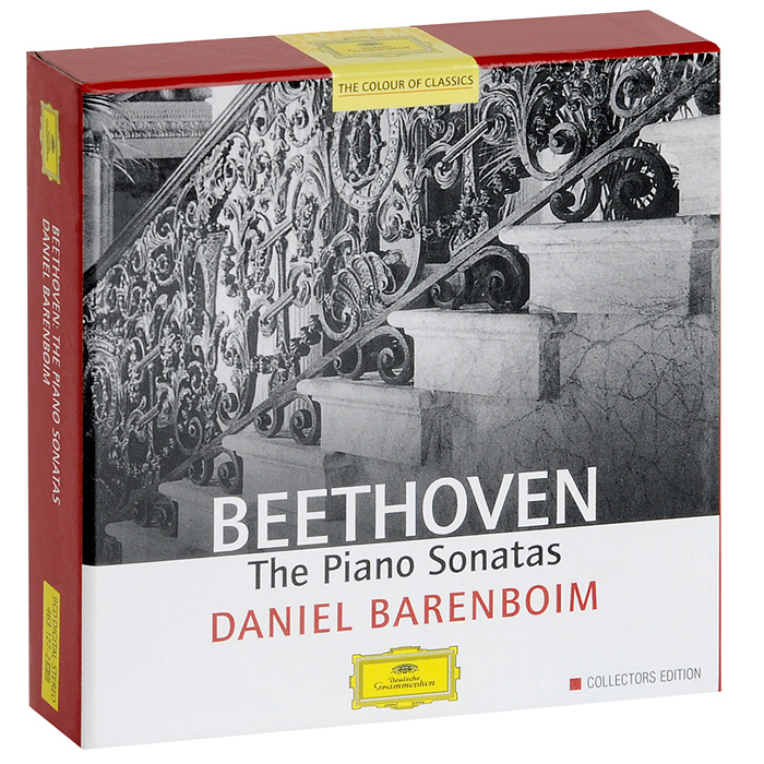 Дэниэл Баренбойм Daniel Barenboim. Beethoven. The Piano Sonatas (9 CD) g f piazza sonata for 2 organs in f major