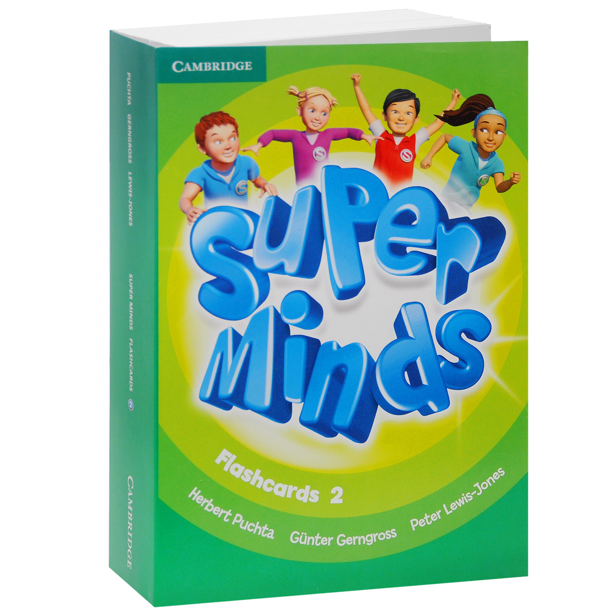 Фото - Super Minds: Level 2: Flashcards (комплект из 103 крточек) super minds level 1 super grammar book