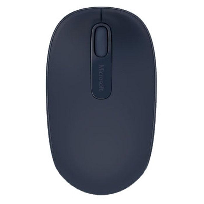 Мышь Microsoft Wireless Mobile Mouse 1850, Blue (U7Z-00014) мышь microsoft sculpt mobile mouse blue usb 43u 00014