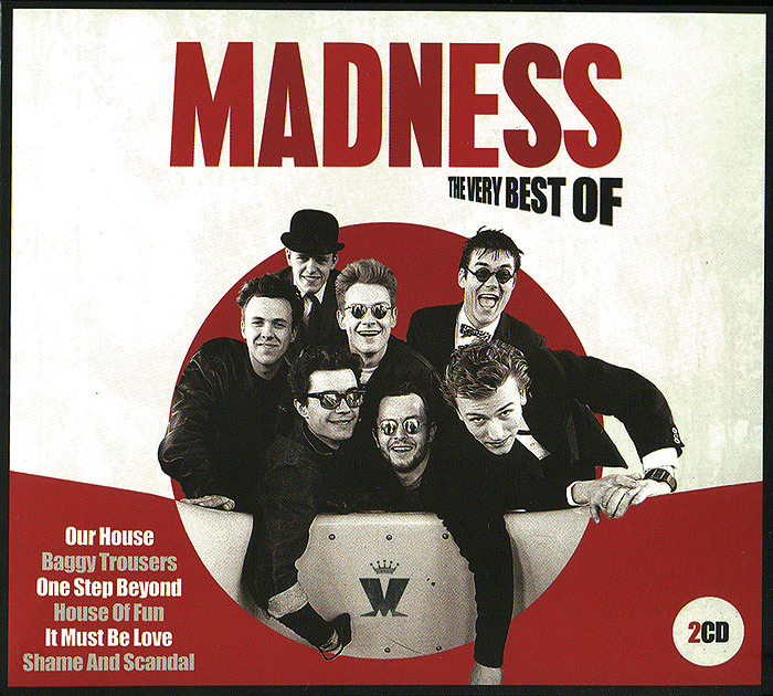 Madness Madness. The Very Best Of (2 CD) cd u2 the best of 19801990
