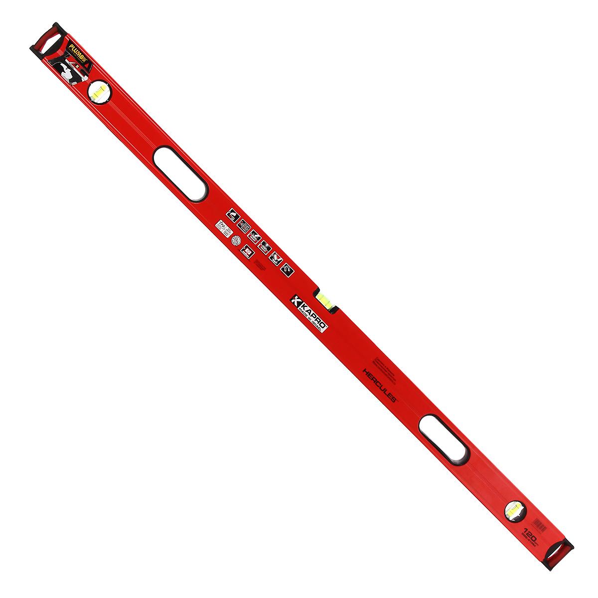 Уровень магнитный Kapro PlumbSite Hercules, 3 колбы, 120 см