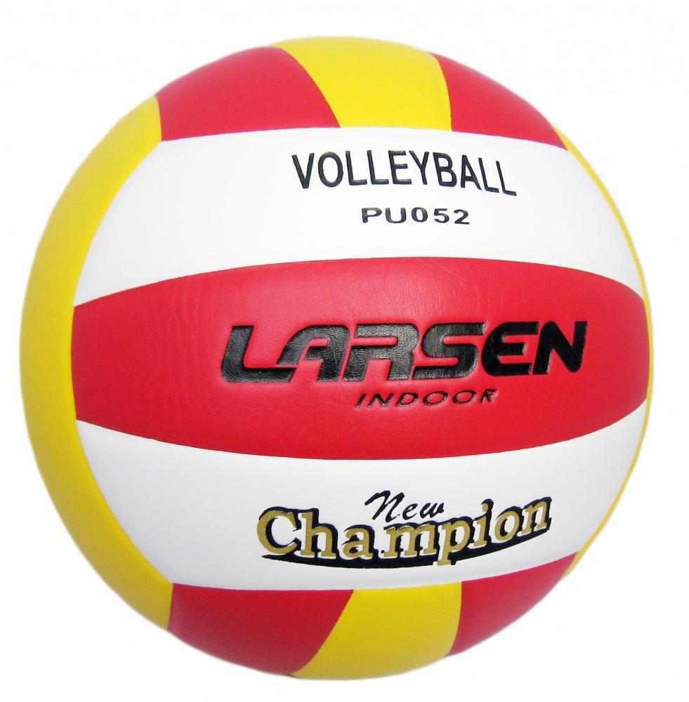 Мяч волейбольный Larsen, цвет: желтый, красный, белый. 97082 мяч волейбольный larsen kicker tip