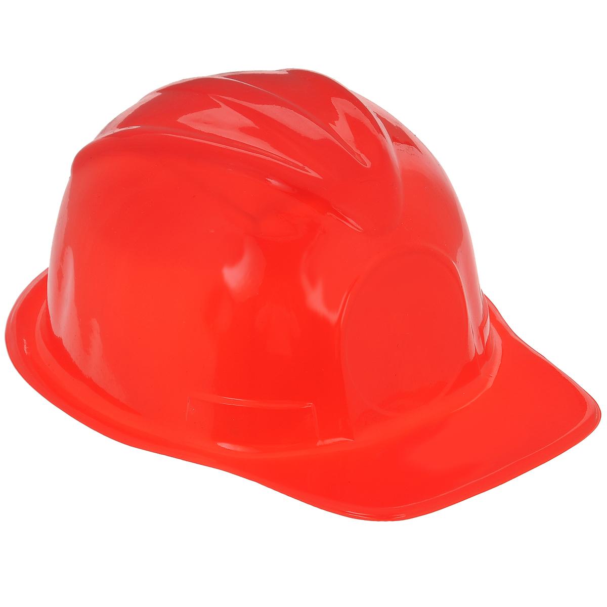 Маскарадная шляпа Каска, цвет: красный, 51,5 см. 31346 шляпа для игрушек 3488159 размер 10 см красный
