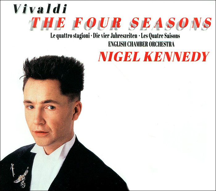 Нейджел Кеннеди Nigel Kennedy. Vivaldy: The Four Seasons (CD + DVD) g h stölzel concerto for flute and oboe in e minor