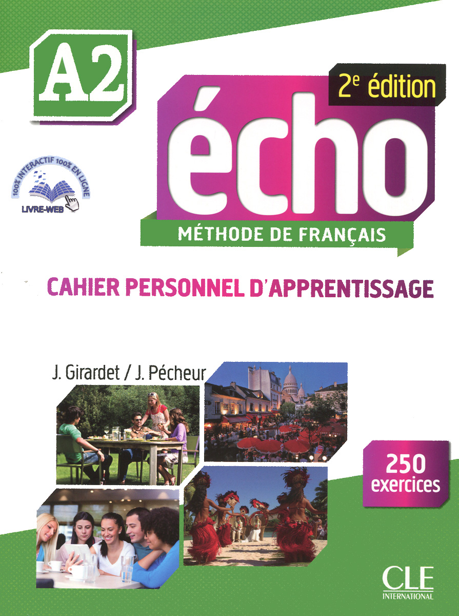 Echo A2: Cahier Personnel D'apprentissage (+ CD-ROM)