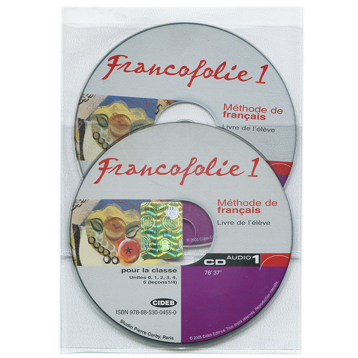 Francofolie 1: Methode de Francais (аудиокурс на 2 CD) echo b1 1 methode de francais livre du professeur