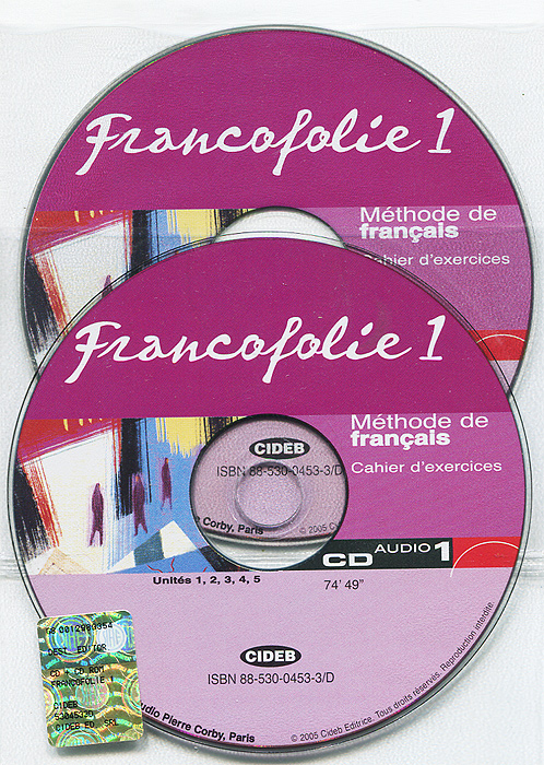 Francofolie 1: Methode de Francais (аудиокурс на 2 CD) d filpa ekvall f prouillac p watcyn jones exercons nous vocabulaire illustre 350 exercices niveau debutant