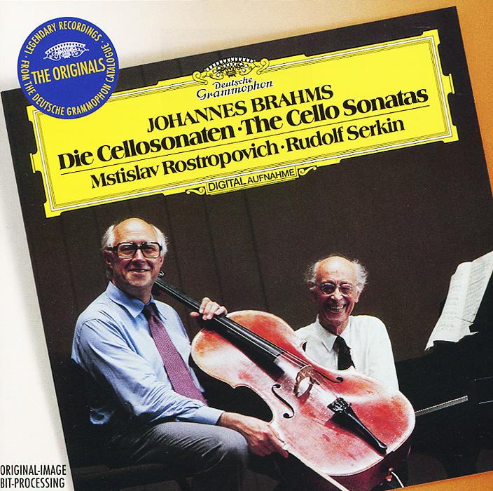 цена на Мстислав Ростропович,Рудольф Серкин Rudolf Serkin, Mstislav Rostropovich. Brahms. The Cello Sonatas