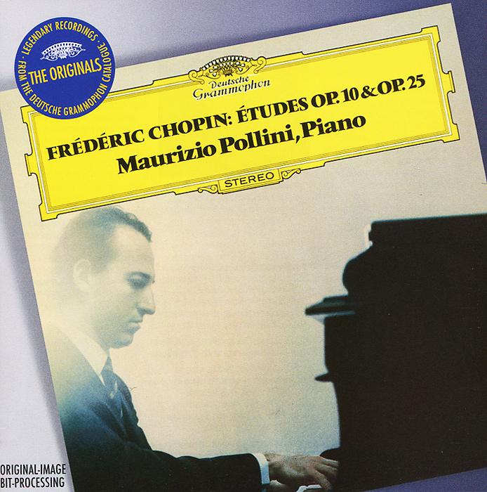 Маурицио Поллини Maurizio Pollini. Chopin. Etudes Op.10 & 25