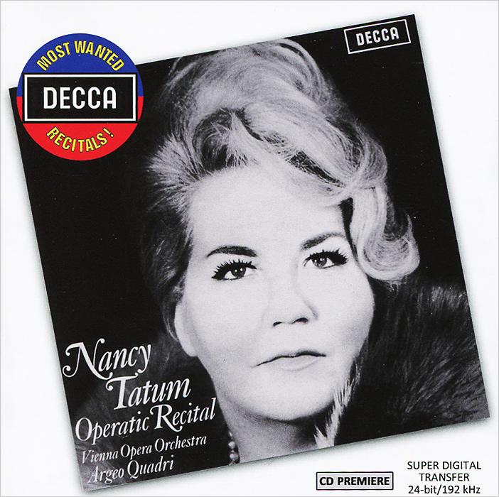 Nancy Tatum Nancy Tatum. Operatic Recital флавиано лабо an operatic recital by flaviano labo