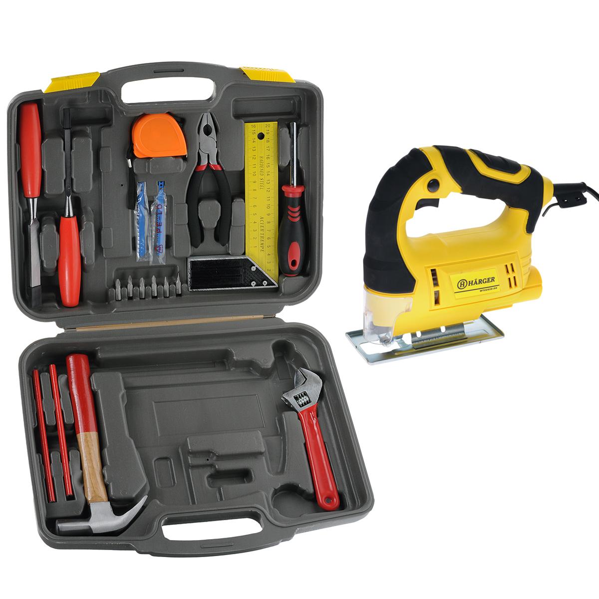 Электролобзик Harger WT02928-DK + набор инструментов в подарок