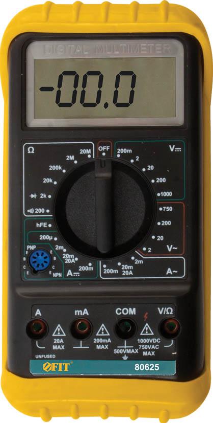 Мультиметр цифровой FIT. 80625 цена