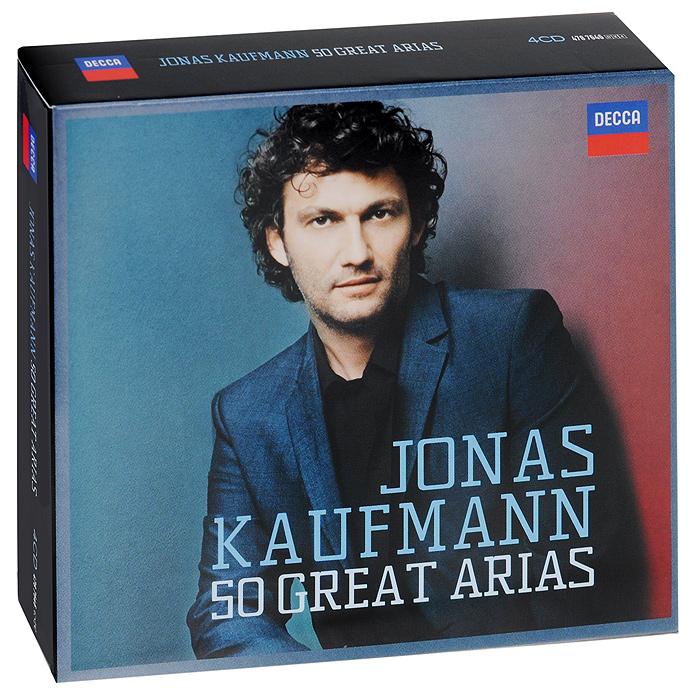 Йонас Кауфманн,Prague Philharmonic Orchestra Jonas Kaufmann. 50 Great Arias (4 CD) giuseppe verdi ein maskenball un ballo in maschera