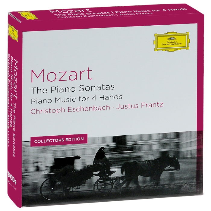 Кристоф Эшенбах,Джастус Франз,Вильгельм Melcher Mozart. The Piano Sonatas, Piano Music For 4 Hands (8 CD) m rondeau cantata in d major