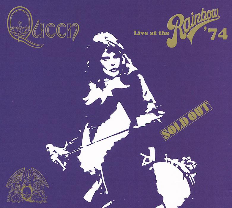 Queen Queen. Live At The Rainbow' 74 (2 CD) блузка understanding the queen s003 2015