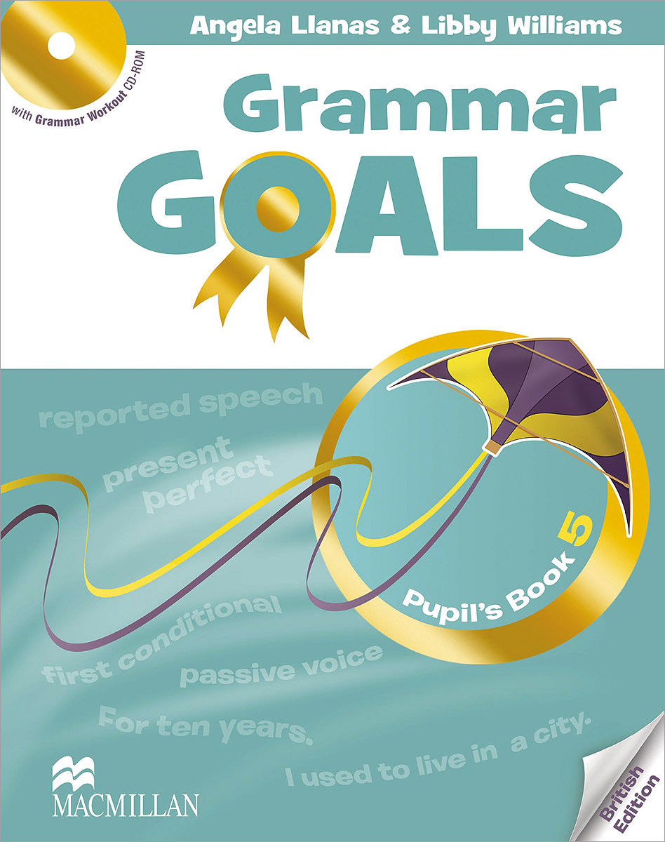 Фото - Grammar Goals: Pupil's Book 5 (+ CD-ROM) macmillan english grammar in context essential level with key cd rom