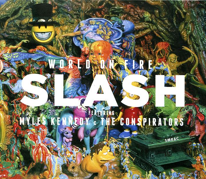 Slash,Майлс Кеннеди,The Conspirators Slash. Featuring Myles Kennedy And The Conspirators. World on Fire slash slash world on fire 2 lp