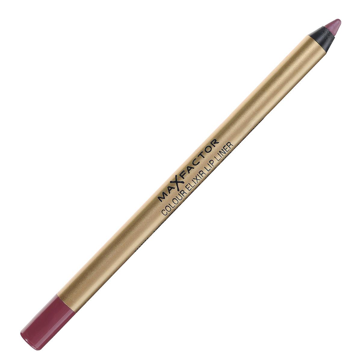 Max Factor Карандаш для губ Colour Elixir Lip Liner, тон №04 pink princess, цвет: розовый карандаш для бровей max factor 001 цвет черный