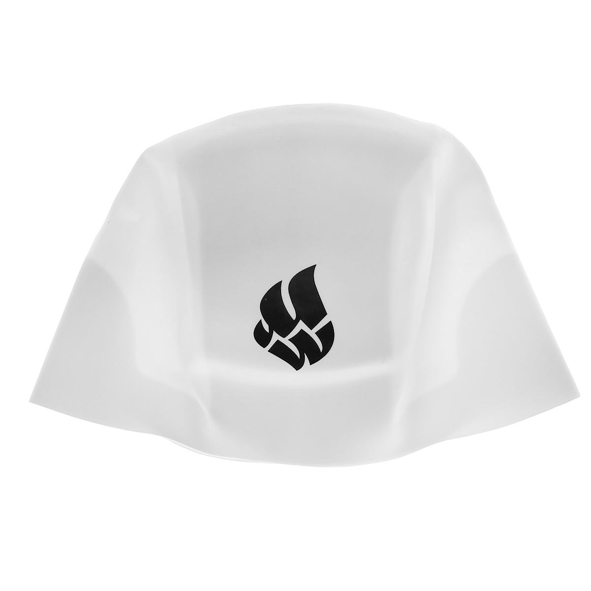 Шапочка для плавания Mad Wave R-Cap Fina Approved L, цвет: белый шапочка для плавания mad wave reverse champion цвет розовый фиолетовый