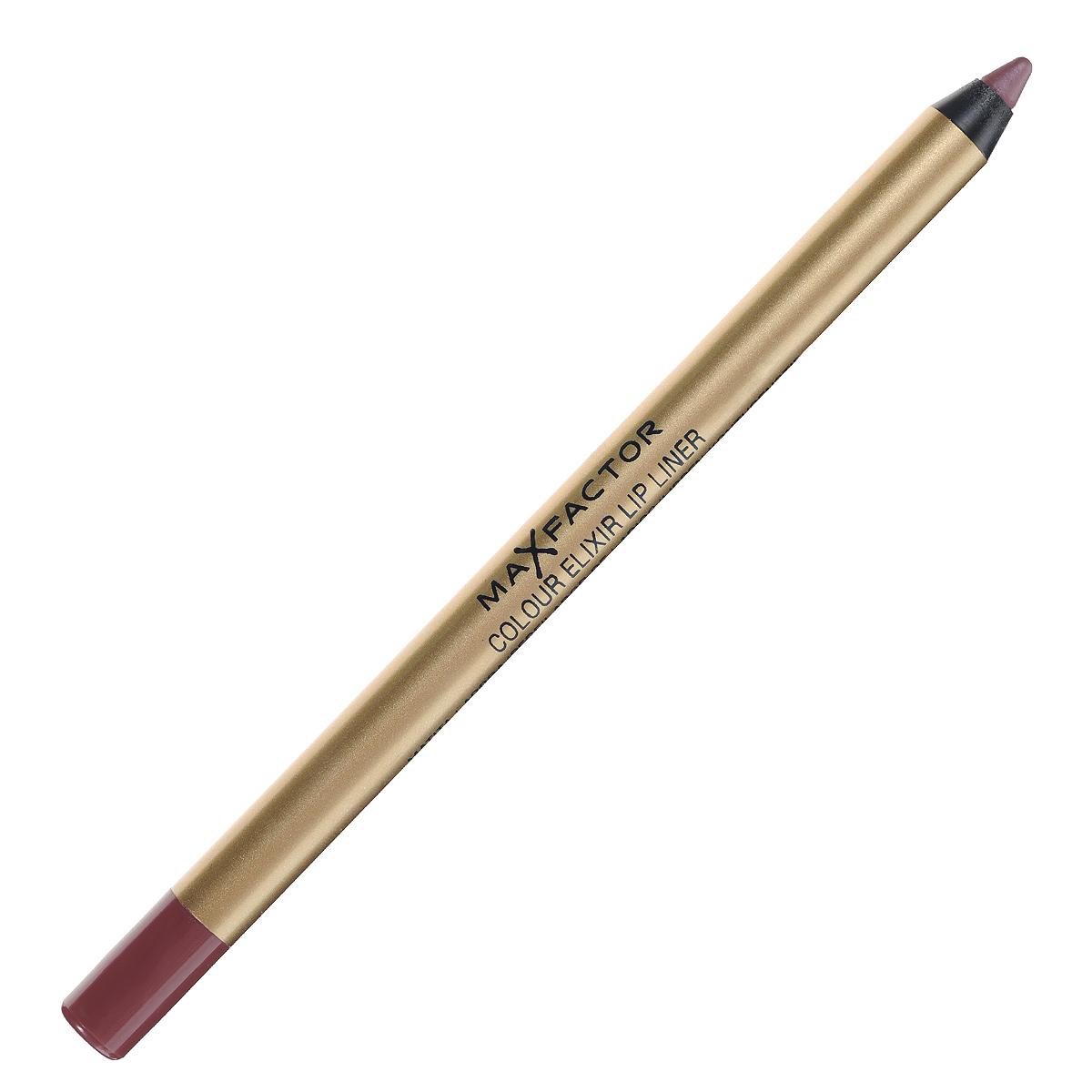 блеск для губ max factor colour elixir gloss 80 Max Factor Карандаш для губ Colour Elixir Lip Liner, тон №12 red blush, цвет: бордовый