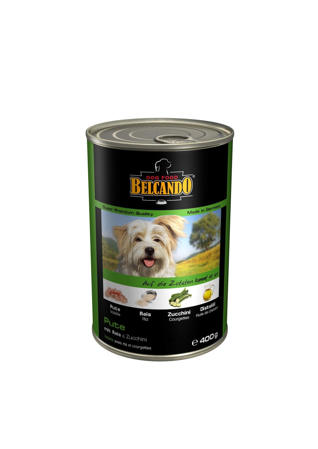 Консервы для собак Belcando, с мясом и овощами, 400 г консервы для собак belcando с отборным мясом 800 г