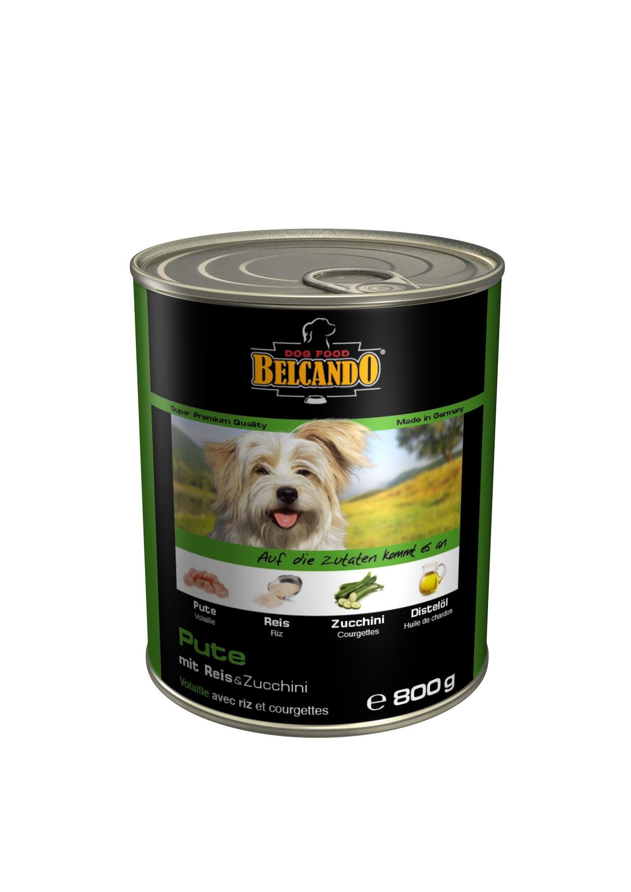 """Консервы для собак """"Belcando"""", с мясом и овощами, 800 г"""